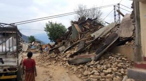 More destruction in Nepal