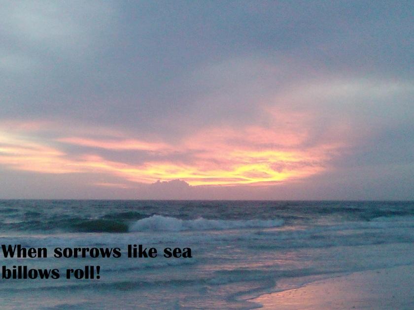 Sea billows