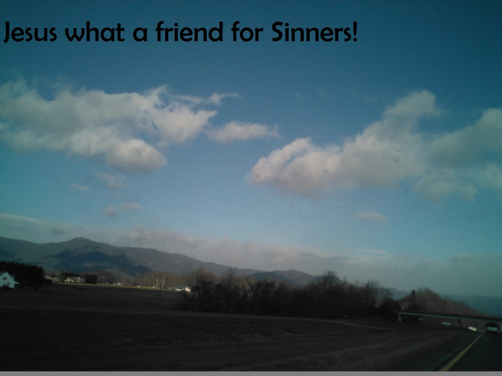 Friend for sinners