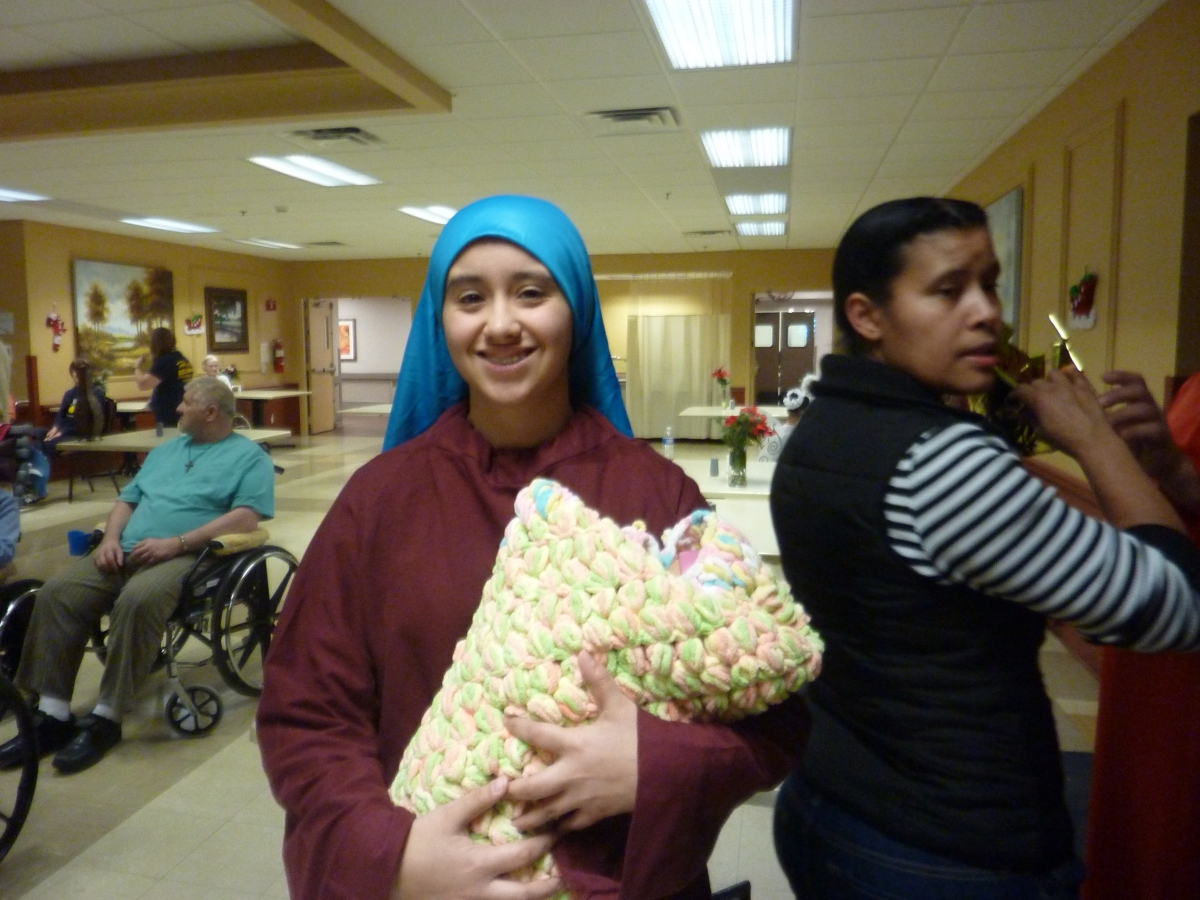 Christmas Program at NursingHome
