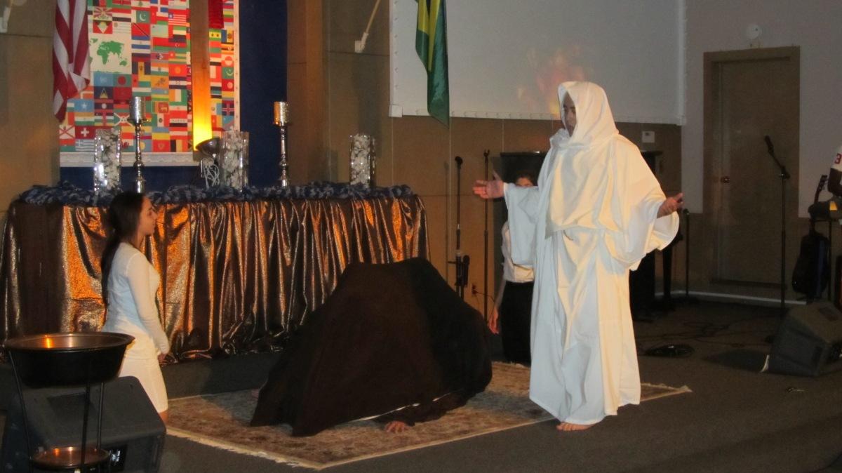 Grace at the Hem of HisGarment